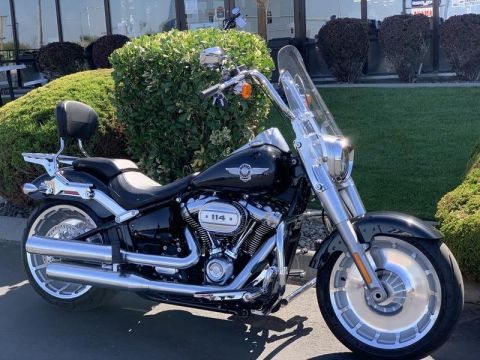 Pre-Owned 2018 Harley-Davidson Fat Boy 114